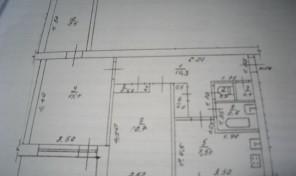 3-к квартира 59 м² на 2 этаже 3-этажного кирпичного дома