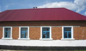 1-этажный дом 46 м² (кирпич) на участке 28 сот., 7 км до города