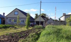 Жилой дом на земельном участке